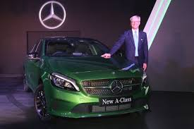 mercedes benz ceo 2015 mercedes benz a class launched at rs 24 95 lakhs