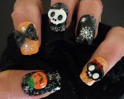 halloween 3d eye with bloody french nail art tutorial youtube a