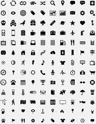 simple small icons vector graphics free vector in adobe