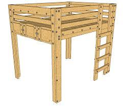 How To Make A Loft Bed Frame Loft Bed Plans Description These Loft Bed Plans