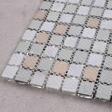 Brushed Stainless Steel Backsplash by Mosaic Tile Kitchen Backsplash Brushed Stainless Steel With Base