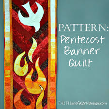 free thanksgiving quilt patterns pattern pentecost quilt banner table runner u2013 faith and fabric