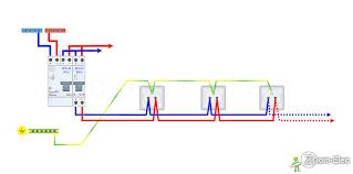 schema electrique chambre schéma électrique prise de courant bricolage