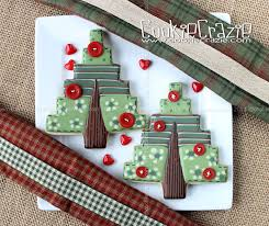 quilted christmas quilted christmas tree cookies tutorial cookiecrazie
