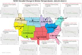 Temperature Map Usa by Ncdc Data Shows That The Contiguous Usa Has Not Warmed In The Past