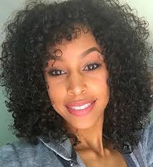black hair tight curls style your short curls in 50 ways