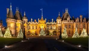 waddesdon manor waddesdon manor wins best christmas experience award coach tours uk