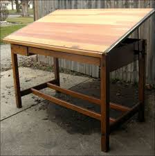 Hamilton Drafting Table Furniture Awesome Vintage Metal Drafting Table Hamilton Electric