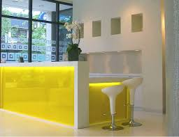 Yellow Table L Yellow L Shaped Reception Desk L Shaped Reception Desk Home Design