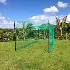 Batting Cage For Backyard by Amazon Com Ultimate Cricket Net Range Of Sizes The Complete