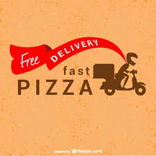 Home Design Vector Free Download Pizzeria Delivery Boy Vector Design Vector Free Vector Download