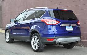 Ford Escape Trunk Space - capsule review 2015 ford escape titanium the truth about cars