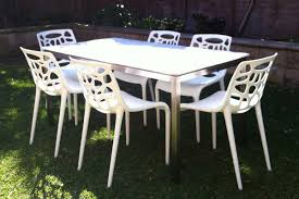 Outdoor Dining Room Sets Caesarstone Dining Table W Crocodile Texture Interesting