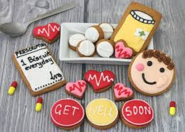 get well soon cookies get well soon gift tin image on food