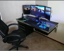 desk amazing pc gaming desk ikea gaming computer desk setup with