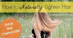 How To Lighten Dark Brown Hair To Light Brown How To Naturally Lighten Hair The Nourished Life