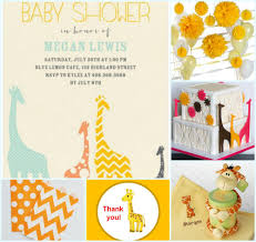 giraffe baby shower ideas giraffe baby shower inspiration board my practical baby shower guide