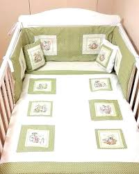 rabbit crib bedding peterabbit baby bedding rabbit crib bedding set hamze