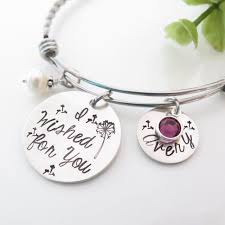 day rings personalized personalized bracelets for and