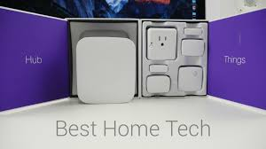 best home tech 2016 samsung smartthings youtube