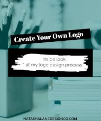create your own logo inside look at my logo design process