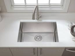 Deep Single Bowl Kitchen Sink by Zuhne 23 Inch Undermount Deep Single Bowl 16 Gauge Stainless Steel