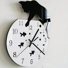 Wall Clock Design Compare Prices On Wall Clock Cat Online Shopping Buy Low Price