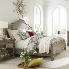 Acacia Bedroom Furniture by Corinne Wood Panel Bed In Sun Drenched Acacia Humble Abode