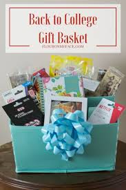 send gift basket diy back to college gift basket recipe college gift baskets