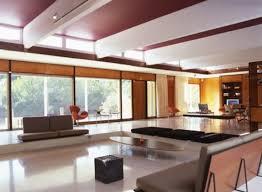 Midcentury Modernism - sunken living room legless couches u003d love mid century