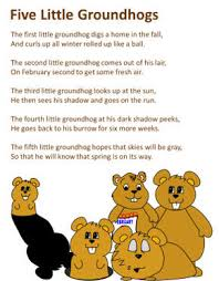 groundhogs poem