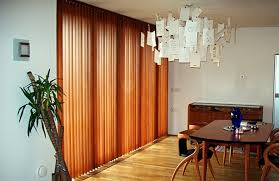 Vertical Wooden Blinds Blackout Glass Vertical Blinds For Sliding Doors Custom Vertical