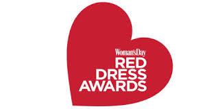 woman u0027s day red dress awards 2017 woman u0027s day