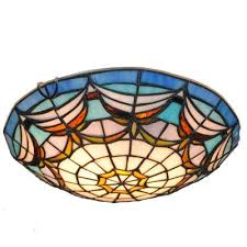 Stained Glass Light Fixtures Dfnxdd 12 Modern Art Crafts Nordic Stained Glass Lamp Shade