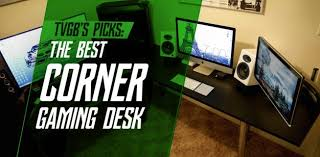 Console Gaming Desk The Best Corner Gaming Computer Desk For Your Pc And Console Setup