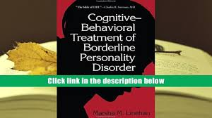 download cognitive behavioral treatment of borderline personality