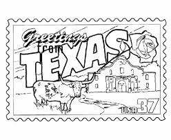 coloring pages texas page for kids a u0026m state symbols tech inside