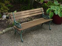 Free Wooden Park Bench Plans by Customer Diy Project U2013 Ipe Park Bench Edeck Com