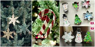 ornaments diy from cookie cutters