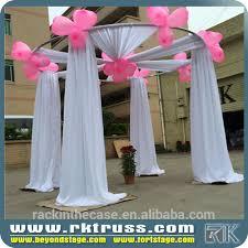 wedding backdrop frame rk wedding backdrop frame portable pipe and drape wedding chuppah