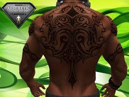 Tribal Torso - second marketplace hair light for torso tattoos