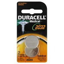 duracell home medical batteries dl 2032 shop watch and ear aides