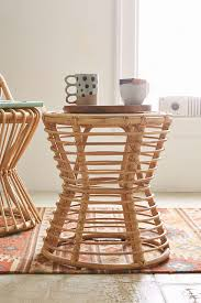 rattan side table outdoor magical thinking luna rattan side table magical thinking rattan