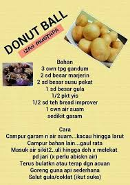 cara membuat roti bakar jari donut ball roti puff pinterest donuts bread bun and cake cookies