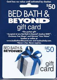 Bed Bath And Beyond Online Bed Bath U0026 Beyond 50 Gift Card Umbc Bookstore