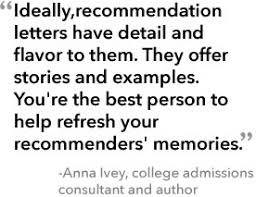 how to land a killer letter of recommendation without the stress