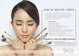 make up artistry courses malaysia make up artistry foundation course s co academy