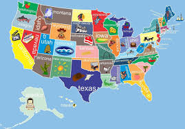 Map Of Usa States by United States Map For Kids Map Of Usa State