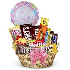 gift baskets to send new baby girl gift basket at send flowers