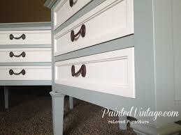 vintage drexel nightstands painted vintage